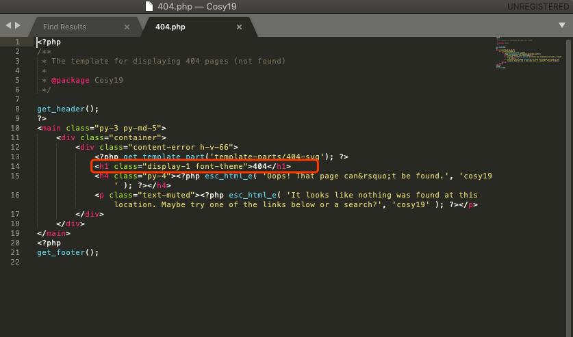 如何精准制导WordPress主题某行代码并修改-nicetheme®奈思主题