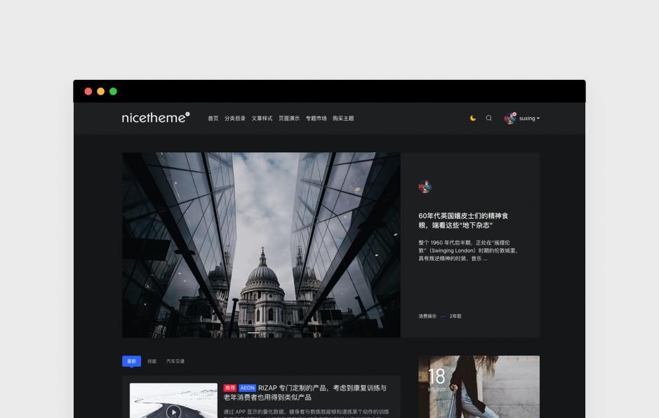 PandaPRO 主题 v1.01 版本更新-nicetheme®奈思主题